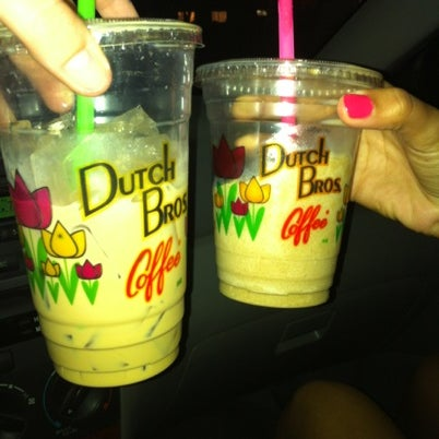 Photo taken at Dutch Bros. Coffee by Catherine on 8/16/2012