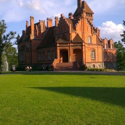 Photo taken at Jaunmoku pils by Aleksejs M. on 8/5/2012