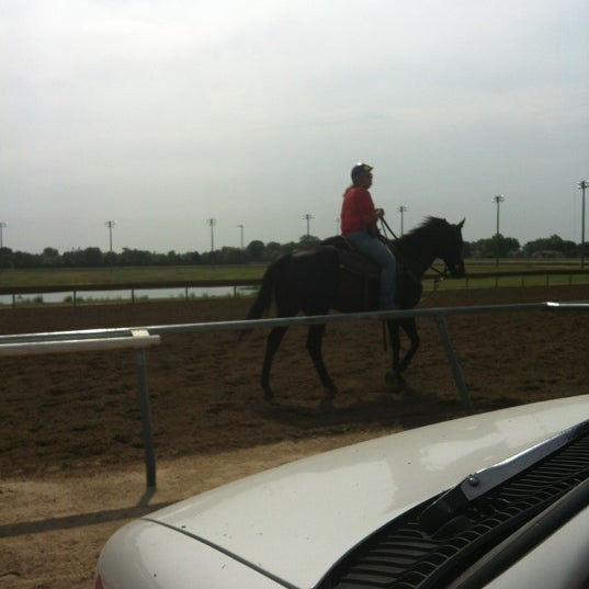 Photo taken at Prairie Meadows by Trevor drizzy on 7/5/2012