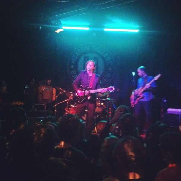 Photo taken at Hoxton Square Bar & Kitchen by Mark W. on 3/27/2012