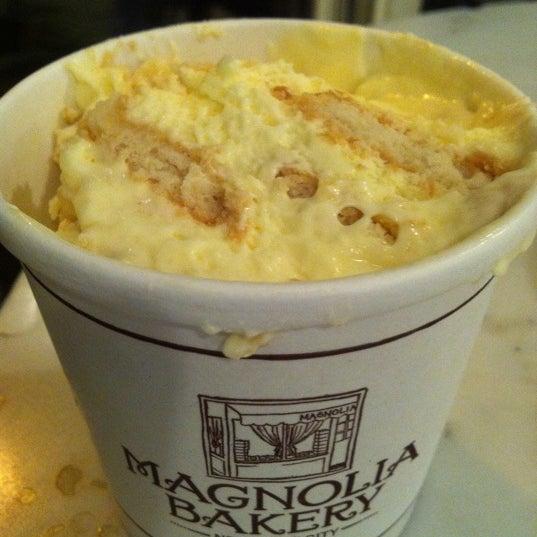 Photo taken at Magnolia Bakery by Grace K. on 9/12/2011