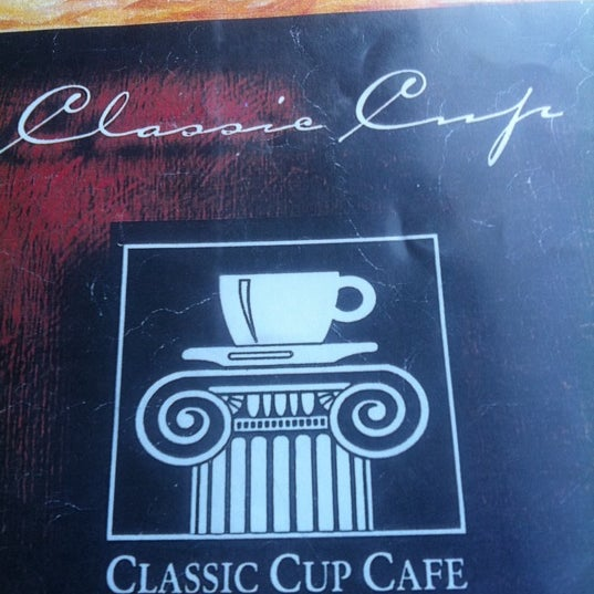 Photo taken at Classic Cup Café by Thom T. on 9/6/2011