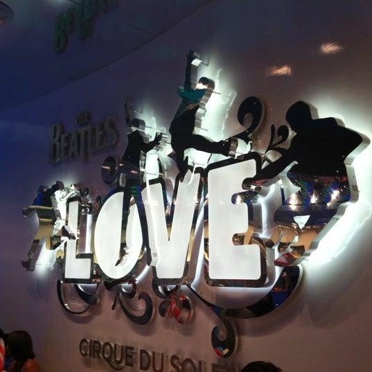 Photo taken at The Beatles LOVE (Cirque Du Soleil) by Alex LM on 8/27/2011