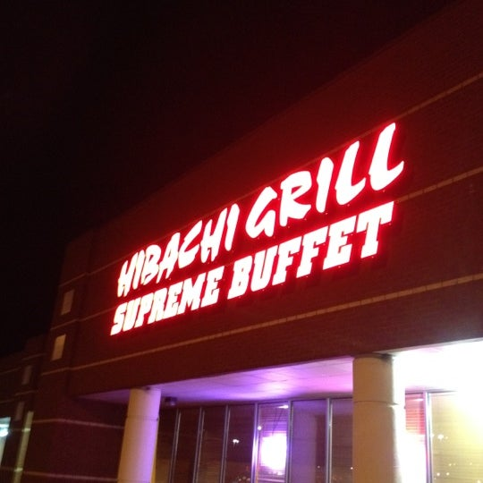 Photo taken at Hibachi Grill & Supreme Buffet by Kathy A. on 1/18/2012
