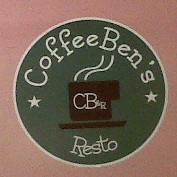 Photo taken at CoffeeBen's & Resto by San S. on 11/12/2011