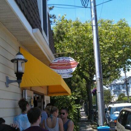 Photo taken at Hotdog Tommy's by Shane M. on 6/3/2012