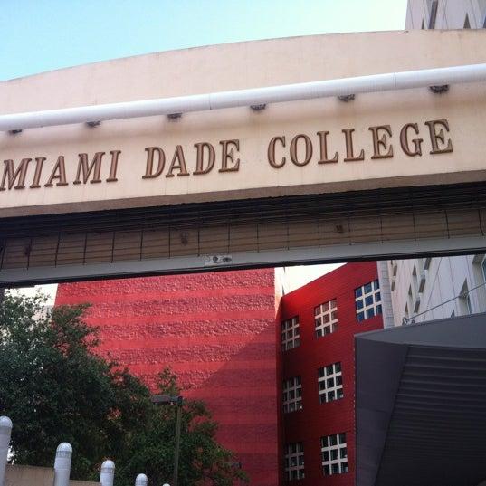 Photo taken at Miami Dade College Wolfson Campus by Veronika M. on 8/2/2012