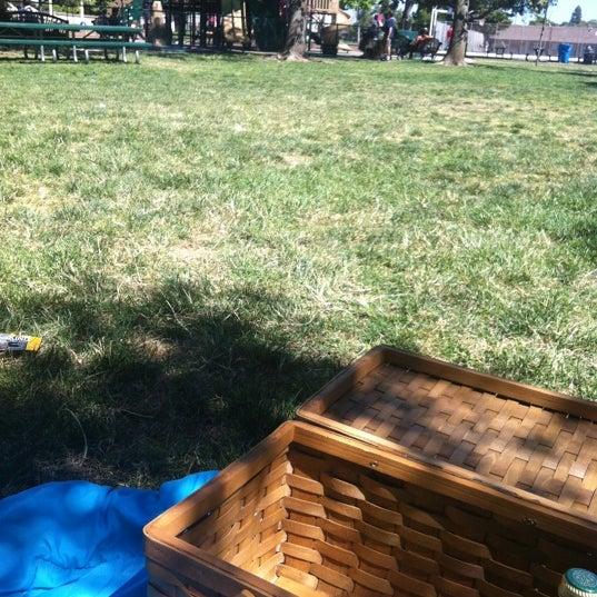 Photo taken at Burton Park by Jasmine A. on 6/3/2012