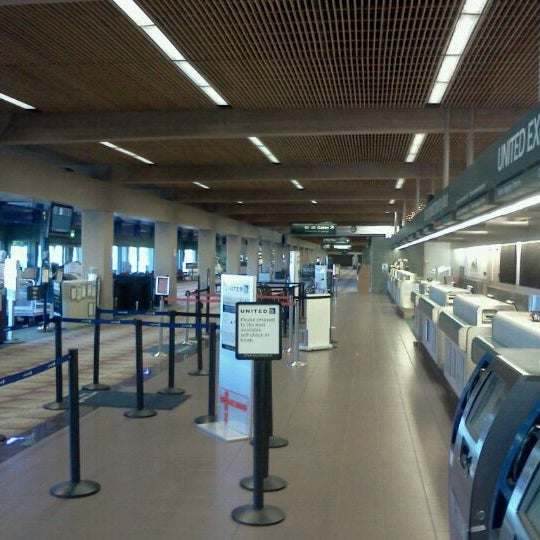 Photo taken at Eugene Airport (EUG) by Tyler R. on 5/12/2012
