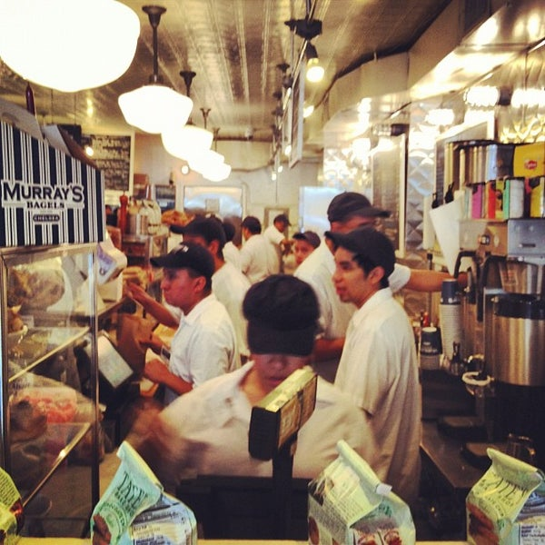 Photo taken at Murray's Bagels by Daniel B. on 5/20/2012