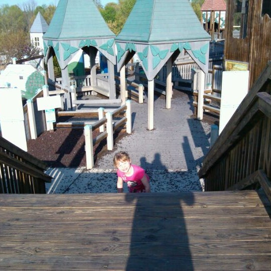 Photo taken at Annie's Playground by Mike A. on 4/19/2012