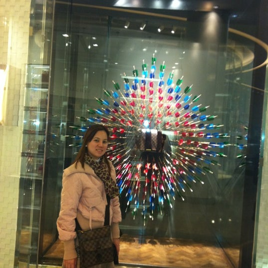 Photo taken at Louis Vuitton by Weng D. on 4/3/2012