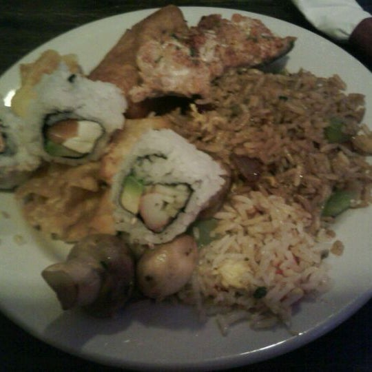 Photo taken at Amber Buffet & Hibachi by Nicole M. on 12/30/2011