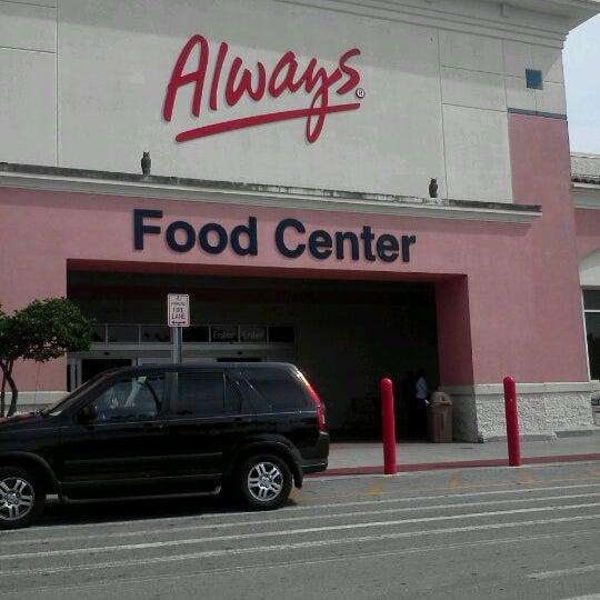 walmart supercenter big box store in miami gardens
