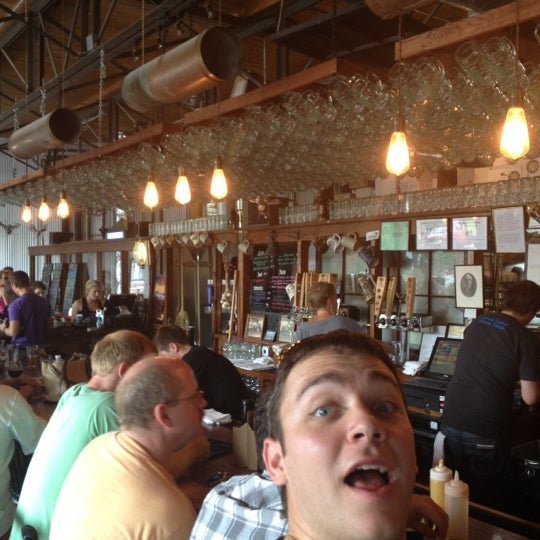 Photo taken at Greenbush Brewing Company by Robert B. on 8/25/2012