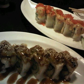 Photo taken at Nori The Japanese Kitchen Lounge by Alexandra V. on 12/4/2011