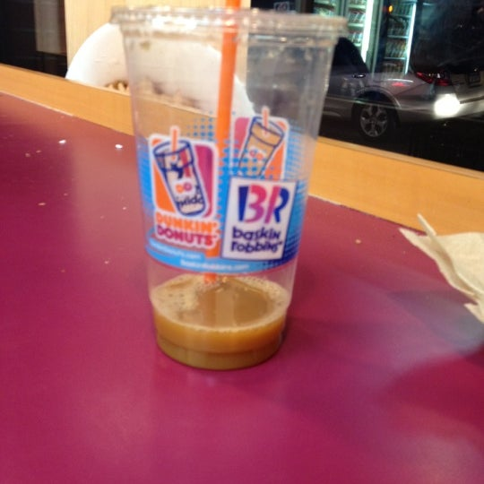 Photo taken at Dunkin Donuts by Casey M. on 1/30/2012