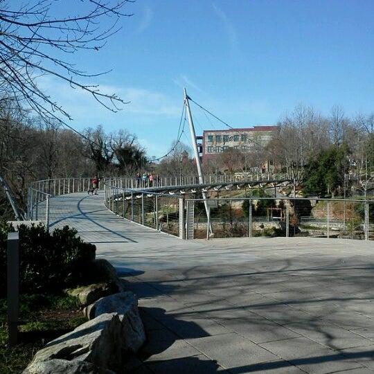 Photo taken at Liberty Bridge by Stephen H. on 1/25/2012
