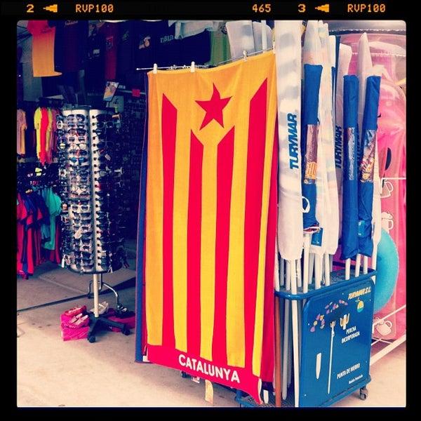 Photo taken at Platja de Calafell by Daniel G. on 9/1/2012