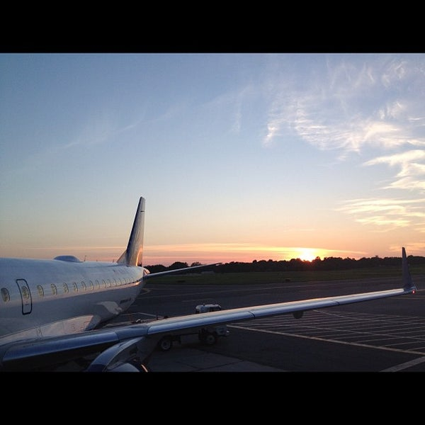 Photo taken at Westchester County Airport (HPN) by Grant M. on 8/13/2012
