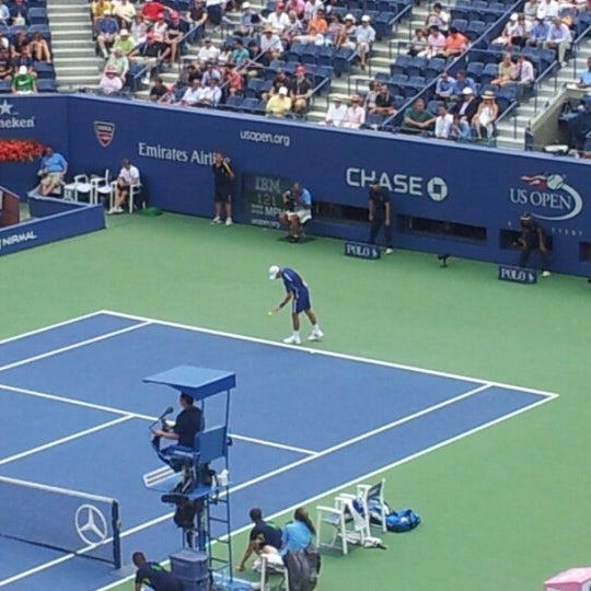 Photo taken at US Open Tennis Championships by Richard L. on 9/2/2012