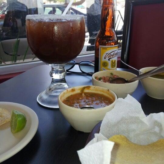 Photo taken at Pozole y Tacos Regios by Rolaz R. on 8/18/2012