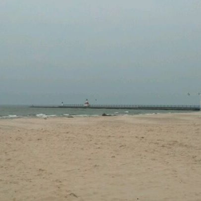 Photo taken at Silver Beach by Jason L. on 4/15/2012