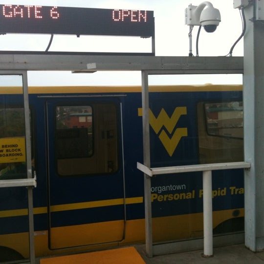 Photo taken at Engineering PRT Station by Kimberly A. on 8/19/2011
