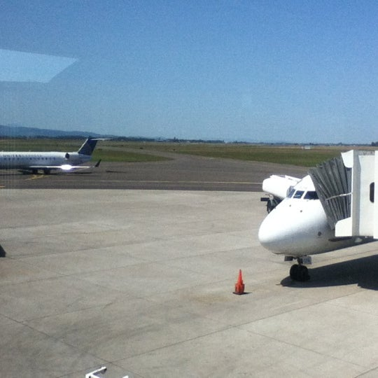 Photo taken at Eugene Airport (EUG) by MWNader on 7/6/2012