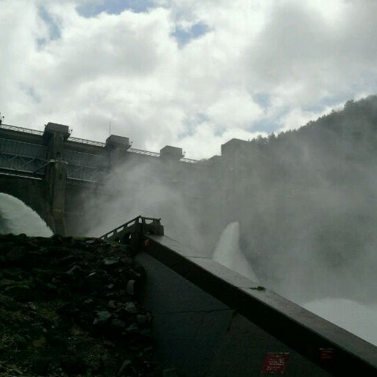 Photo taken at Kinzua Dam by Jeremy G. on 5/2/2012