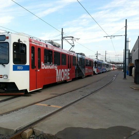 Colfax At Auraria Light Rail Station