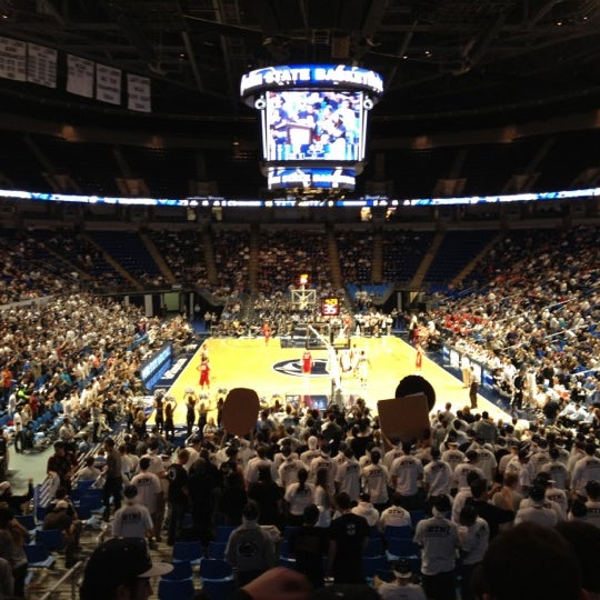Photo taken at Bryce Jordan Center by Andrew G. on 2/1/2012