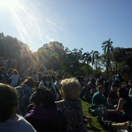 Photo taken at Plaza Francia by Nadia I. on 10/30/2011