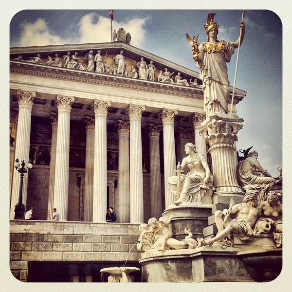 Photo taken at Parlament by Viktor T. on 7/3/2012