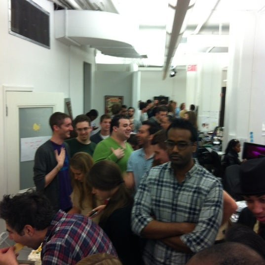Photo taken at Thrillist HQ by Alexis B. on 5/4/2012