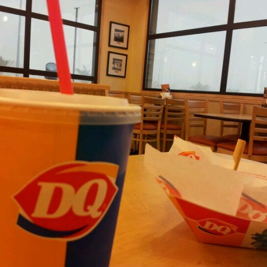 Photo taken at Dairy Queen | ديري كوين by Najd A. on 4/16/2012