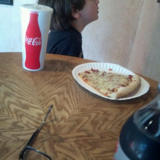 Photo taken at Ramundo's Pizza by Fred N. on 3/21/2012
