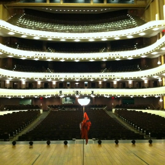 Photo taken at The Smith Center for the Performing Arts by Rebecca D. on 8/18/2012