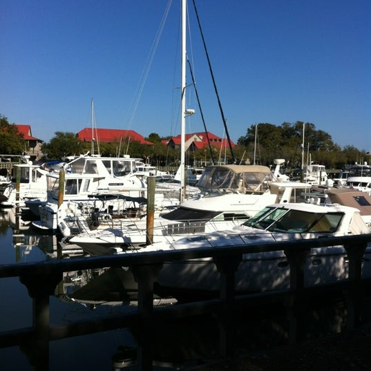 Photo taken at Shelter Cove Marina by Linda B. on 1/15/2012