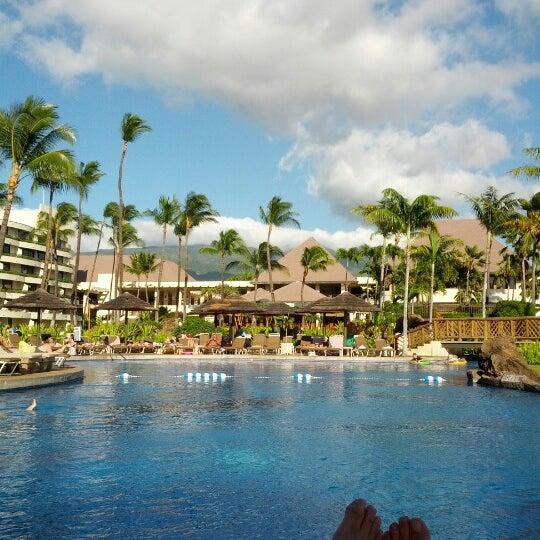 Photo taken at Sheraton Maui Resort & Spa by John B. on 7/15/2012