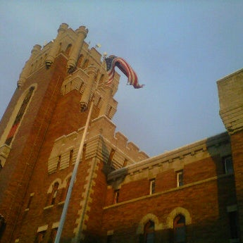 Photo taken at Main Street Armory by Steven M. on 1/30/2012