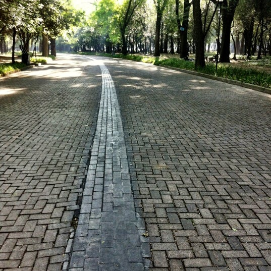 Photo taken at Bosque de Chapultepec by Paola R. on 3/14/2012