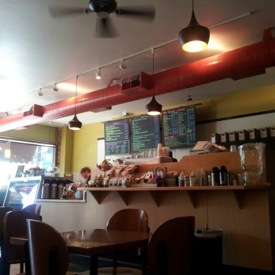 Photo taken at The Coffee Shop NE by Shalani J. on 8/24/2012