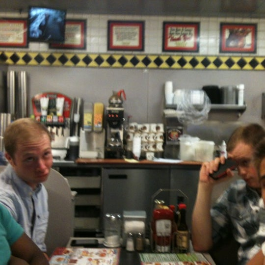 Photo taken at Waffle House by Rebecca B. on 6/28/2012