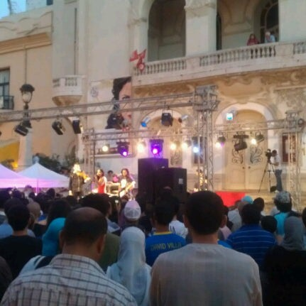 Photo taken at Avenue Habib Bourguiba by Ahmed R. on 6/21/2012