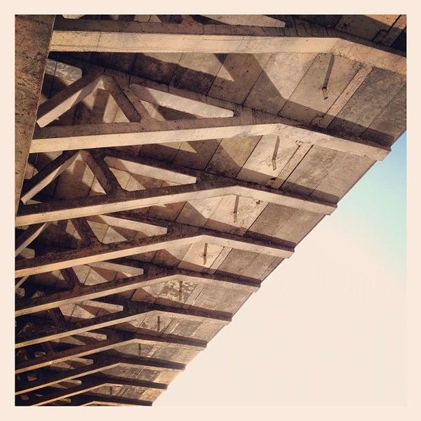 Photo taken at Ponte Estaiada by Irakerly F. on 3/4/2012