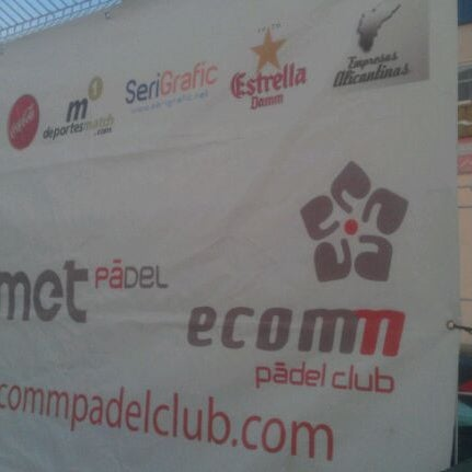 Photo taken at Ecommpadel by Gente d. on 5/18/2012