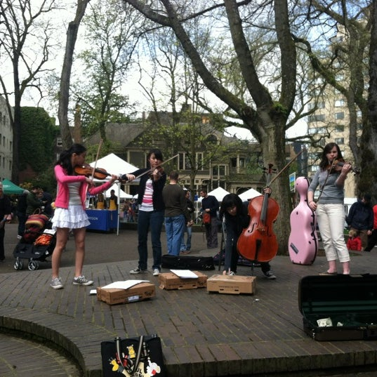 Photo taken at Portland Farmer's Market at PSU by Ruthie F. on 4/14/2012