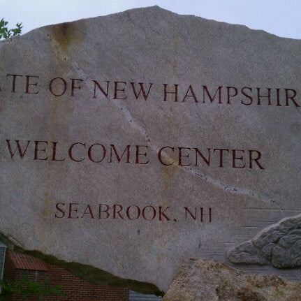 Photo taken at Seabrook Rest Area & Welcome Center by Me C. on 7/8/2011