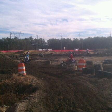 Photo taken at Atco Raceway by Paul P. on 11/19/2011